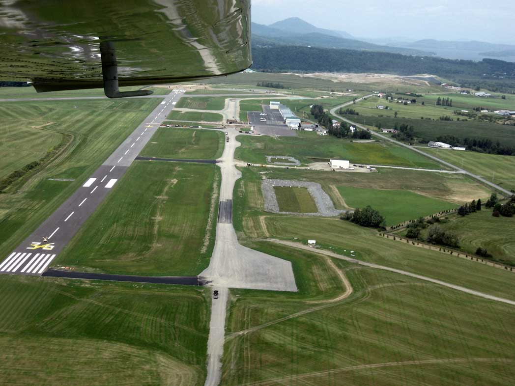 Progress Photo of Taxiway A