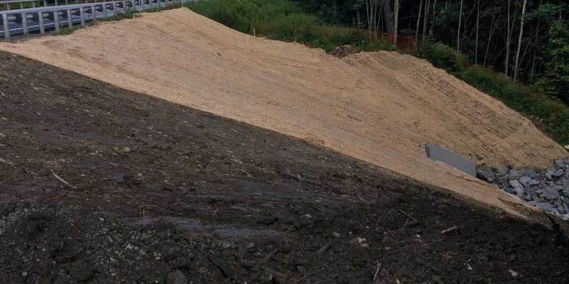 Completed Slope with Headwall at Base
