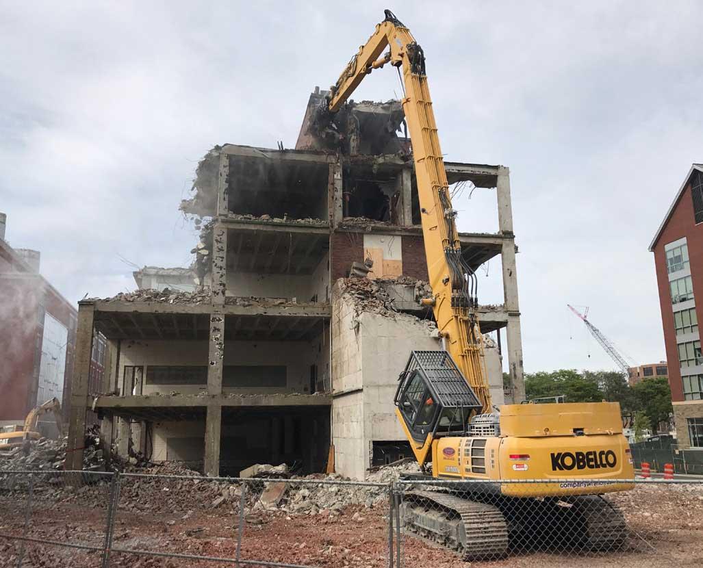 Mass Demolition - South Facade